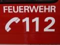Aufschrift 112